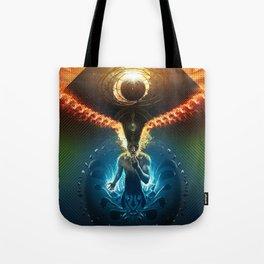 Lucid Synchronized Dimensionalism Tote Bag