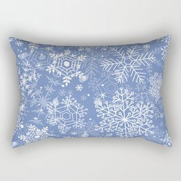 Snowflake pattern Rectangular Pillow