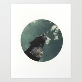Wolf Sky Art Print
