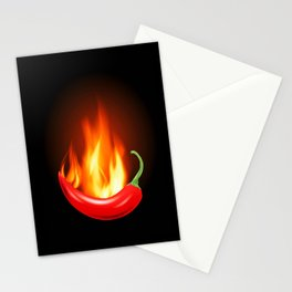 Hot Pepper Stationery Cards