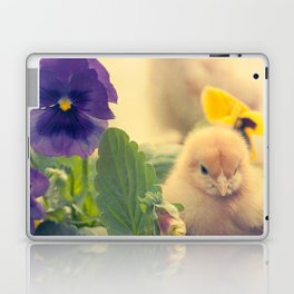 Chicks and Violets Laptop & iPad Skin