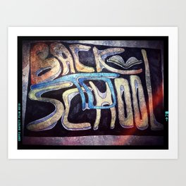 BackToSchool Art Print