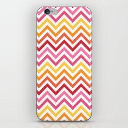Rainbow Chevron #1 iPhone Skin