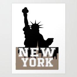 design for nrw york Art Print
