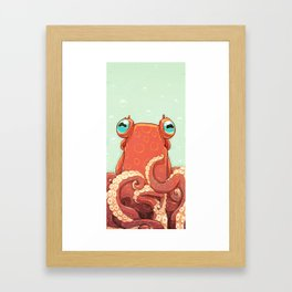 Goldie the Octopus Framed Art Print
