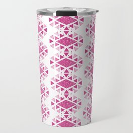 Monlay Pink, Mountain lines, Geometric Travel Mug