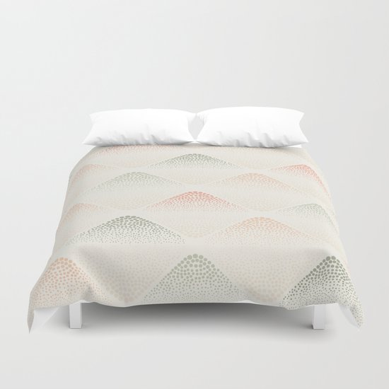 Retro Dotted Pattern 05 Duvet Cover