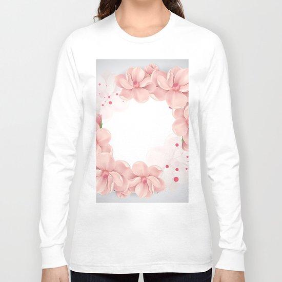 Flower crown Long Sleeve T-shirt