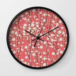 Go Orient Cherry Blossoms Wall Clock