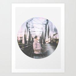Circle 3 Art Print