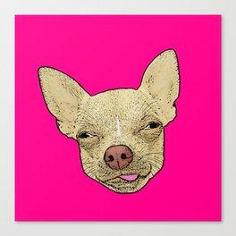 Chihuahua - Lick Me! Canvas Print