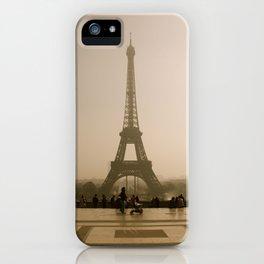 Old Eiffel iPhone Case