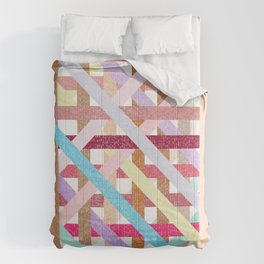 Structural Weaving Lines Comforters