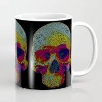 terminator Mugs featuring Terminator by Rajasegar Chandiran