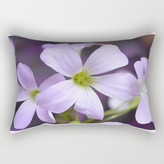 Flower | Flowers | Lavender Petals v2 Rectangular Pillow