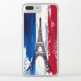 Eiffel-tower-Paris Clear iPhone Case