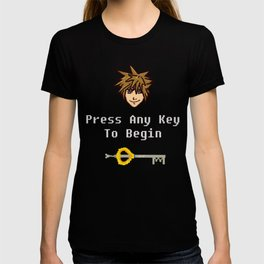 Sora - Press Any Key T-shirt
