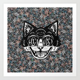 The Creative Cat Art Print