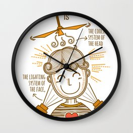 Definition of Smile Wall Clock