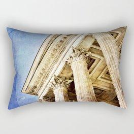 Ancient Roman Temple Rectangular Pillow