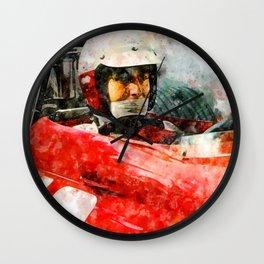 Lorenzo Bandini Close Wall Clock
