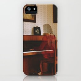 Piano lesson iPhone Case