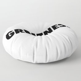 Greatness Floor Pillow