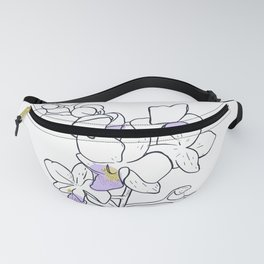 Pink Orchid Fanny Pack