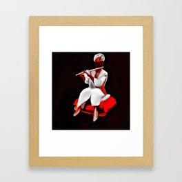 The indian cultural man Framed Art Print