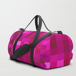 Pink Mosaic Duffle Bag