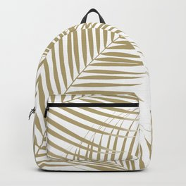 Palm Leaves - Gold Cali Vibes #1 #tropical #decor #art #society6 Backpack