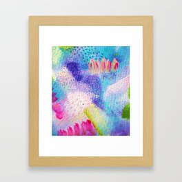 Abstract expressions Framed Art Print