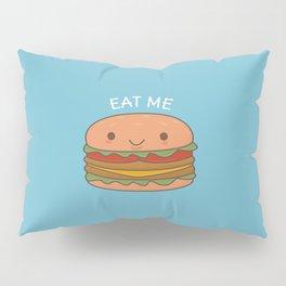 Kawaii Cute Burger Pillow Sham