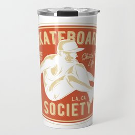 Skateboard Society Travel Mug