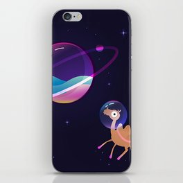 Camel in Space iPhone Skin