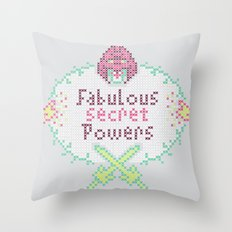 Masters Of X-Stitch Throw Pillow