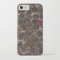 flower pattern iPhone & iPod Cases featuring Flower Pattern by Aubree Eisenwinter