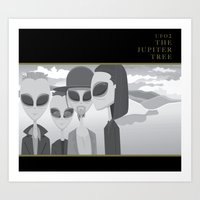 UFO2 The Jupiter Tree Art Print