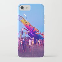 coachella iPhone & iPod Cases featuring coachella butterfly by katelyndee