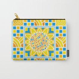 Sunflower. Ukrainian style. Carry-All Pouch