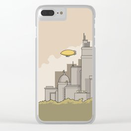 City #2 Clear iPhone Case