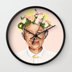 Hipstory - Queen Elizabeth Wall Clock