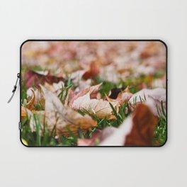 Fallen Leaves Laptop Sleeve