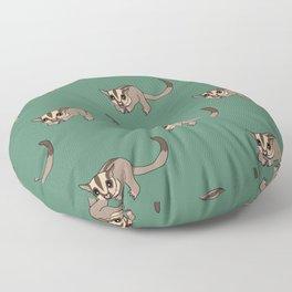 Cute sugar glider Floor Pillow