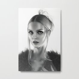 Brigitta Metal Print