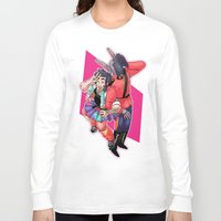 80s Long Sleeve T-shirts featuring 80s Fashion by kami dog