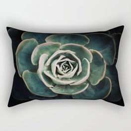 DARKSIDE OF SUCCULENTS IV Rectangular Pillow