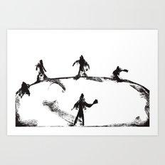 Zombie Apocalypse-Last Stand Art Print
