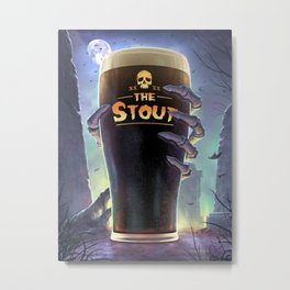 Return of The Stout Metal Print