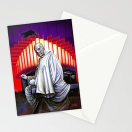 Dr. Phibes Vincent Price horror movie monsters Stationery Cards